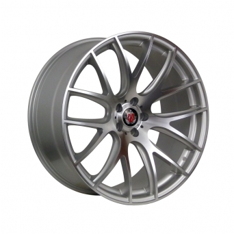 AXE Wheels - CS LITE Silver Polished Face (19 Zoll)
